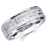 Carved Wedding Bands