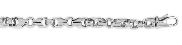 Click here for 14K White Gold Designer Link Chain prices
