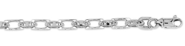 Click here for Open Link 14K White Gold Designer Chain prices