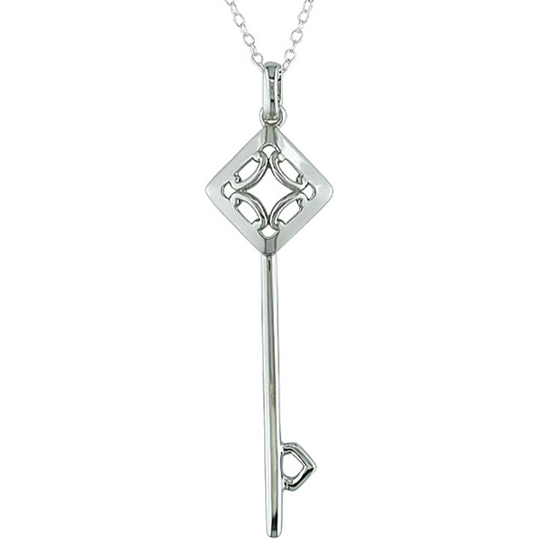 Click here for Sterling Silver Key Pendant prices