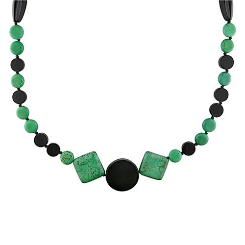 Click here for 40 Malachite and Onyx Necklace prices