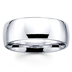 8mm Benchmark Comfort Fit Wedding Band