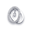 18K Fancy Diamond Pendant (0.16 ctw)