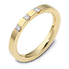 0.12 tcw Diamond 18K Yellow Gold Dora Wedding Band