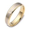 5.00 mm 14K Two Tone Dora Wedding Band