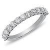 0.75ctw 14K White Gold Prong Set Diamond Ring