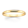 2mm Classic Yellow Gold Wedding Band