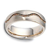 7.00 mm Rope Braid 14K Gold Dora Wedding Band thumb 1